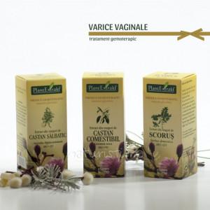 Tratament naturist - Varice vaginale (pachet)