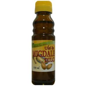 Ulei de Migdale dulci presat la rece - 100 ml