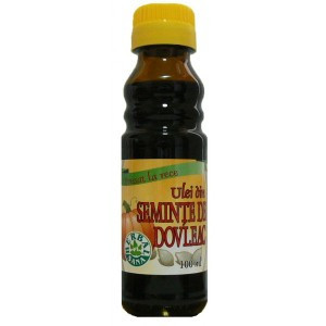 Ulei din seminte de dovleac presat la rece - 100 ml