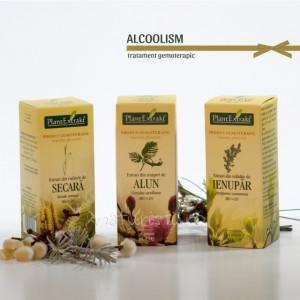 Tratament naturist - Alcoolism (pachet)