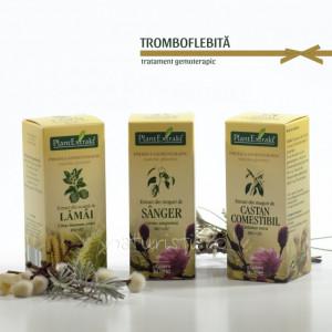 Tratament naturist - Tromboflebita (pachet)