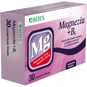 Magneziu cu B6 * Beres x 30 tb