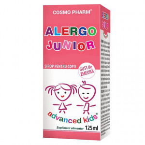 Advanced Kids sirop Alergo Junior -125 ml