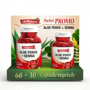 Aloe Ferox + Senna - 60 cps + 30 cps