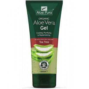 Aloe vera gel cu Arbore de ceai - 200 ml