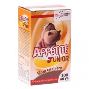 Appetite Junior - sirop cu miere pentru copii - 100 ml