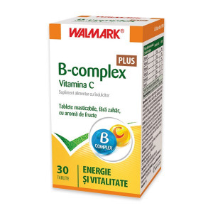 B Complex + Vitamina C Plus - 30 cpr