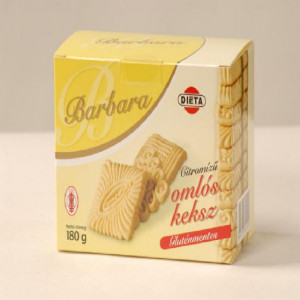 Biscuiti cu lamaie - 180 g - Barbara