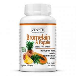 Bromelain & Papain - 60 cps