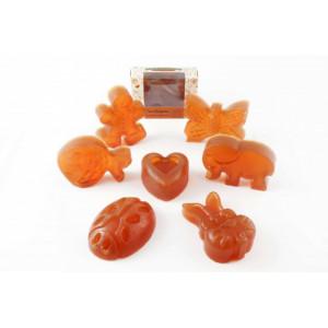 CocoSapun transparent figurine cu argan, catina si aroma populara - 50 g