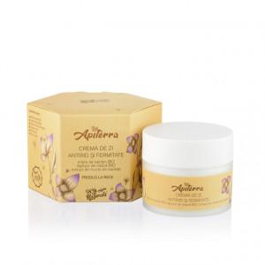 Crema de zi antirid si fermitate Apiterra - 50 ml