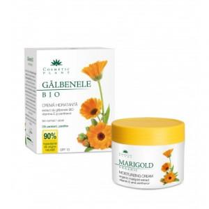 Crema hidratanta de galbenele BIO cu vitamina E si panthenol - 50 ml