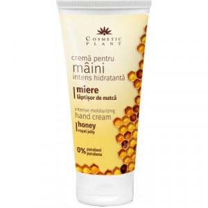 Crema intens hidratanta pentru maini cu miere si laptisor de matca - 100 ml