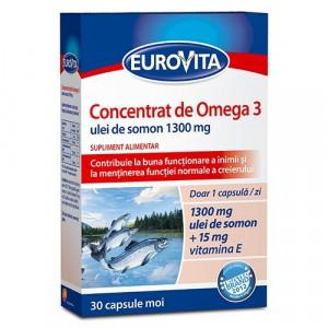 Eurovita concentrat de Omega 3 - 30 cps moi