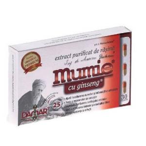 Extract purificat de rasina Mumie cu ginseng - 30 cps