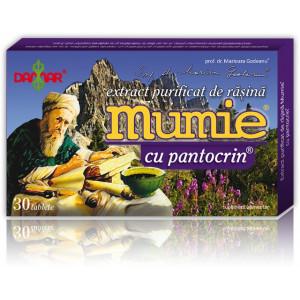 Extract purificat de rasina Mumie cu pantocrin - 30 tbl