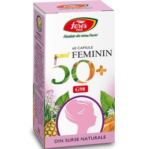 Feminin 50+, G98 - 60 cps