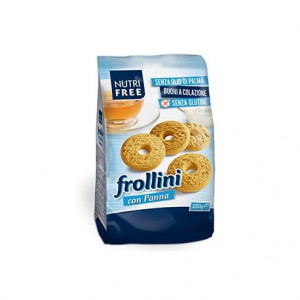Frollini con panna - Biscuiti cu frisca - 250 g - NutriFree