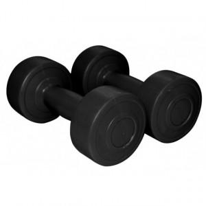 Gantere aerobic negru 5 kg x2 1167