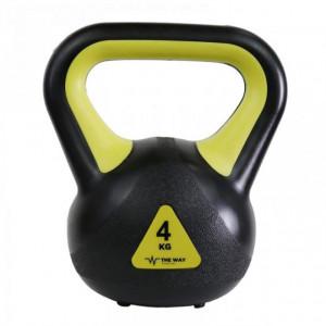 Gantere Kettlebell, 4 kg, Vinil, TheWay Fitness