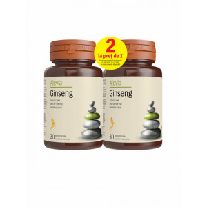 Ginseng - 30 cpr + 30 cpr Pachet