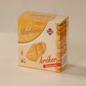 Kracker cu sare - 180 g - Barbara