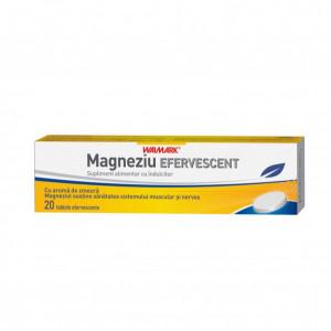 Magneziu efervescent - 20 cpr