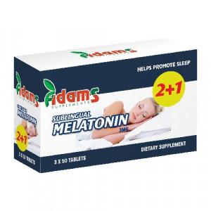 Melatonina 3 mg - 50 cps 2+1 Gratis