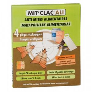 Mit'Clac Ali - Capcana pentru molii alimentare - 4 buc