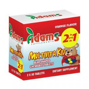 Multivitakid - 30 cpr masticabile 1+1 Gratis