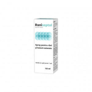 Raniseptol spray adulti&copii- 125 ml