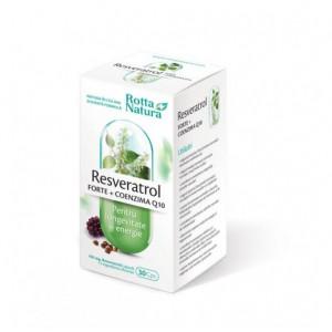 Resveratrol forte + Coenzima Q10 - 30 cps
