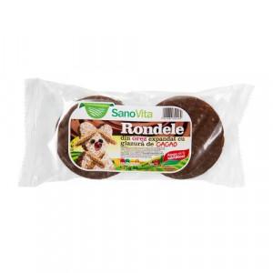 Rondele orez cu glazura de cacao - 75g