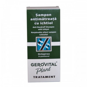 Sampon antimatreata cu ichtiol - 150 ml - Gerovital
