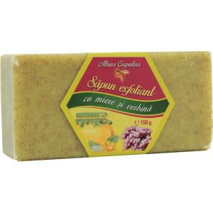 Sapun exfoliant cu miere si verbina - 150g