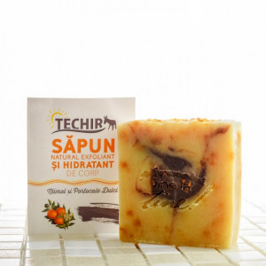 Sapun natural exfoliant - 120 g -Techir