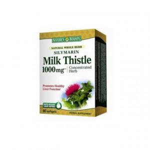 Silymarin Milk Thistle 1000mg - 60 cps - NB