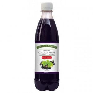 Sirop de coacaze negre 500 ml