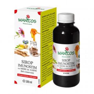 Sirop Imunostim cu miere de albine 200 ml
