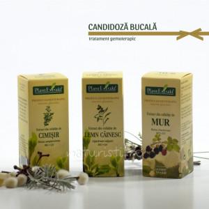 Tratament naturist - Candidoza bucala (pachet)