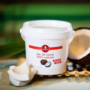Ulei de cocos pentru gatit - 500 ml
