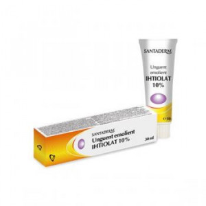 Unguent emolient Ihtiolat 10% Santaderm - 30 ml