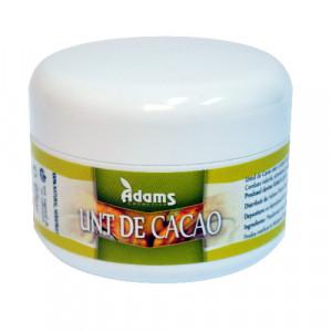 Unt de cacao ecologic - 65 g Adams Vision
