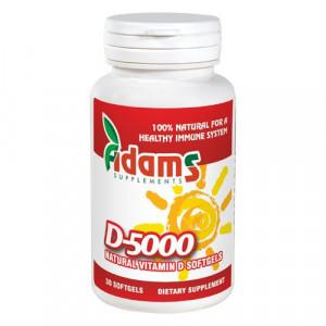 Vitamina D-5000 naturala - 30 cps