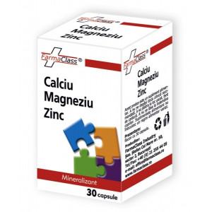 Calciu & Magneziu & Zinc - 30 cps