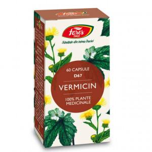Vermicin (antiparazitar), D67 - 60 cps Fares