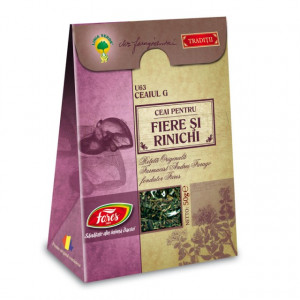 Ceaiul G - Ceai pentru fiere si rinichi U63 - 50 gr Fares