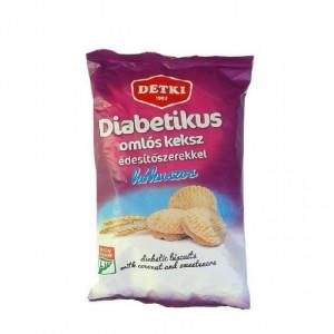 Biscuiti diabetici cu cocos si indulcitor - 200 g Detki