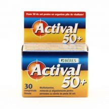 Actival 50+ 30cpr