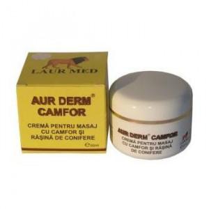 Aur Derm crema masaj cu Camfor - 50 ml
